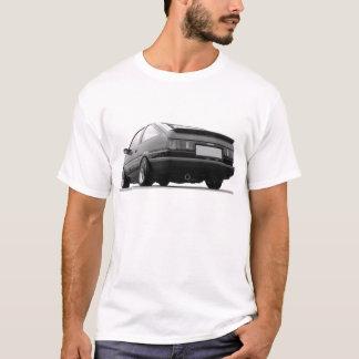 T-shirt Noir AE86 et blanc