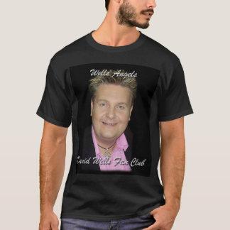 T-shirt noir avec de promo le dos dessus