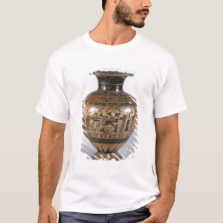T-shirt Noir-chiffre hydria