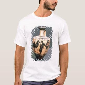 T-shirt Noir-chiffre vase à grenier, 5ème siècle AVANT