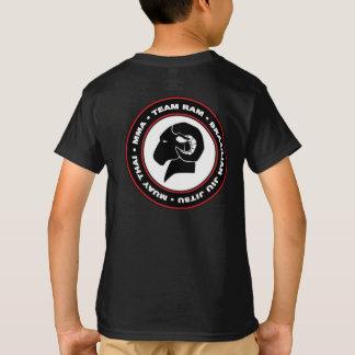 T-shirt noir classique de Hanes RAM des enfants