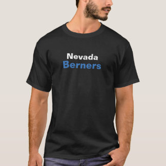 T-shirt noir de BERNERS du NEVADA