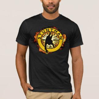 T-shirt noir de cascadeur