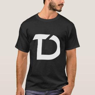 T-shirt Noir de chemise de TechDiff
