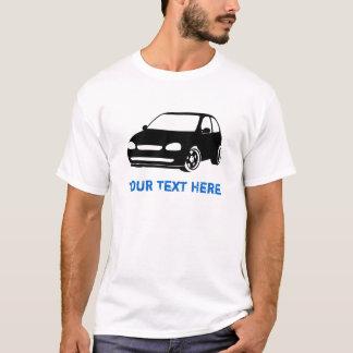 T-shirt Noir de Corsa + votre texte