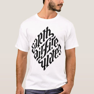 T-shirt Noir de diamant d'Illuminati