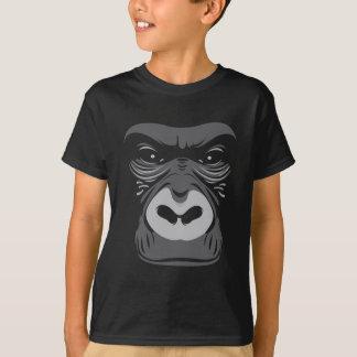 T-shirt Noir de gorille