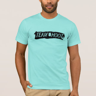 T-shirt Noir de grand coup de huée d'équipe
