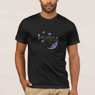 T-shirt noir de haute qualité de sorcellerie de