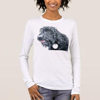 T-shirt noir de Labradoodle
