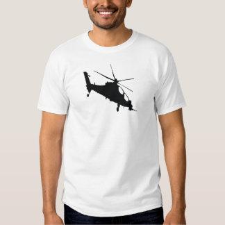 T-shirt noir de logo de ROFLCOPTOR