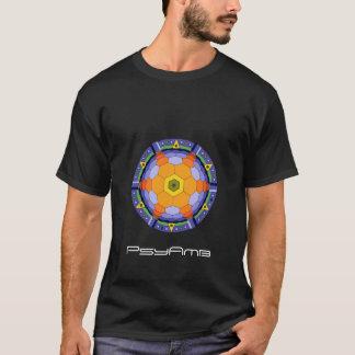T-shirt Noir de nébuleuse