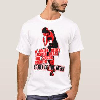 T-shirt Noir de Roler Derby