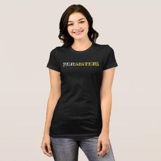 T-shirt noir de #shepersists de PerSisters
