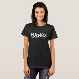 T-shirt Noir de Tonk du Honky de Hank (femmes)