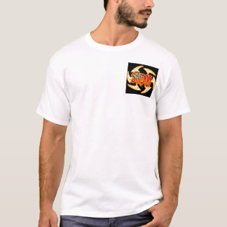 T-shirt Noir de tribal du Samoa