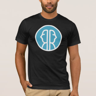 T-shirt noir d'Irrelationship des hommes