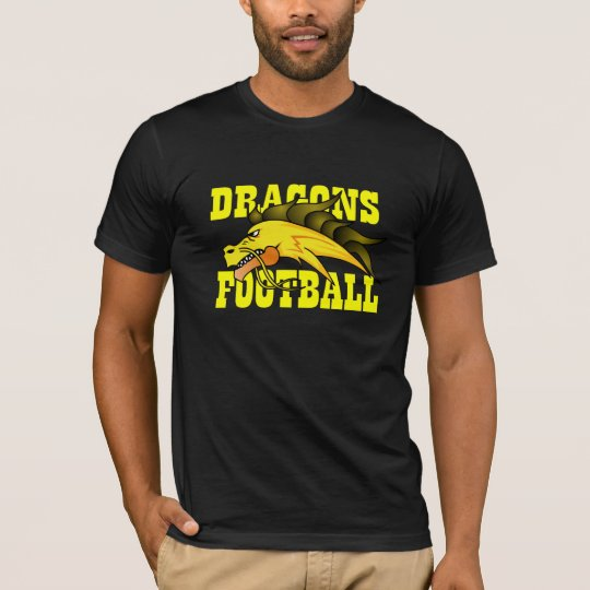 T-shirt Noir Dragons