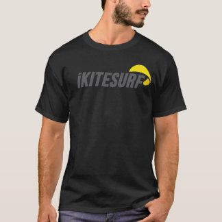 T-shirt noir du 2-Sided des hommes d'iK