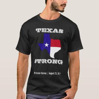T-shirt Noir fort de Harvey le Texas d'ouragan
