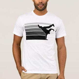 T-shirt Noir gry de gradient de BBOY