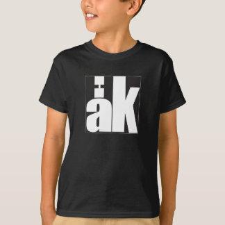 """T-shirt noir """"Haka"""" enfant"""
