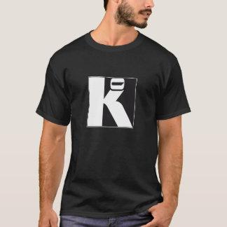"""T-shirt noir """"Ko"""""""
