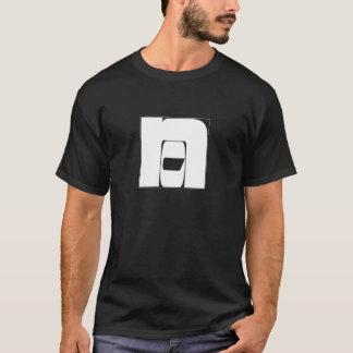 """T-shirt noir """"No""""/""""Non"""""""