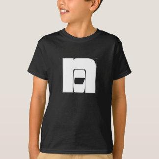 """T-shirt noir """"""""No""""/""""Non"""""""