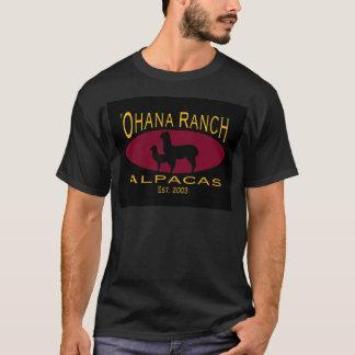 T-shirt Noir T de ranch d'Ohana