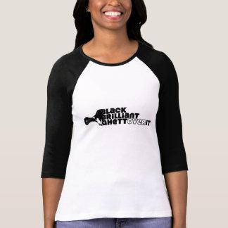 T-shirt NOIRES, brillant, GhettOver il (dames)