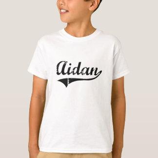 T-shirt Nom classique de style d'Aidan