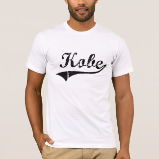 T-shirt Nom classique de style de Kobe