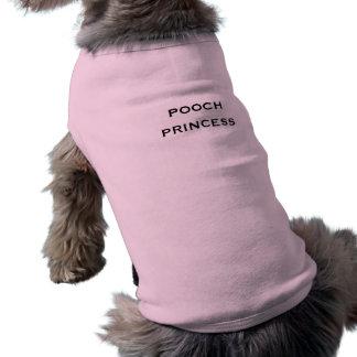 T-shirt Nom de princesse Funny Cute Girl Dog de cabot