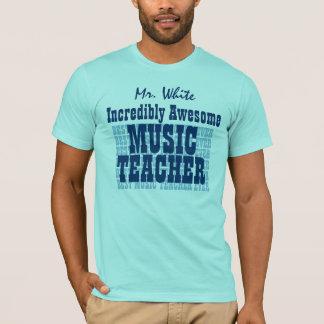 T-shirt Nom impressionnant incroyable de coutume de
