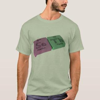T-shirt Nom-Seth-Se-Th-Sélénium-Thorium