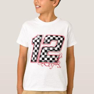 T-shirt nombre de l'emballage 12 automatique