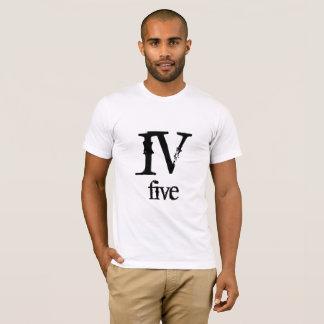 T-shirt Nombre IV cinq romain