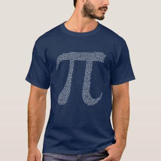 T-shirt Nombres de fractale de pi