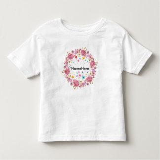 T-shirt nommé personnalisé d'enfants