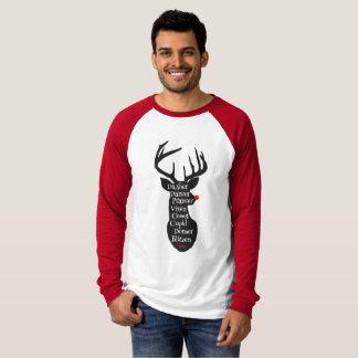 T-shirt Noms de renne