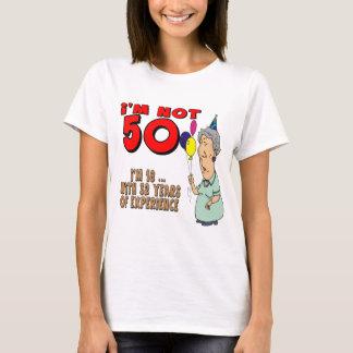 T-shirt Non cinquante cinquantième cadeaux d'anniversaire