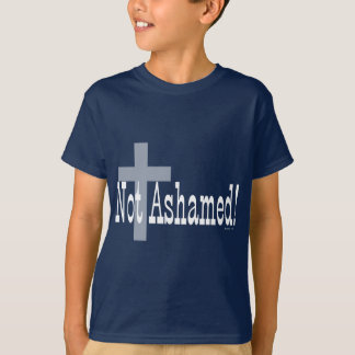 T-shirt Non honteux ! 1h16 de Romains (avec la croix)