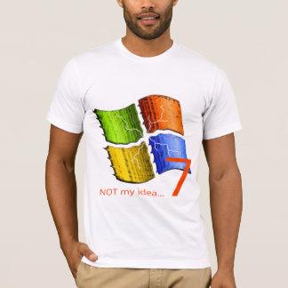 T-shirt NON mon idée