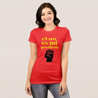 T-shirt Non mon président