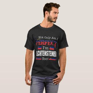 T-shirt Non seulement de Liechtensteiner pays parfait de