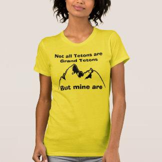 T-shirt Non tout le Tetons sont Tetons grand, Bu…