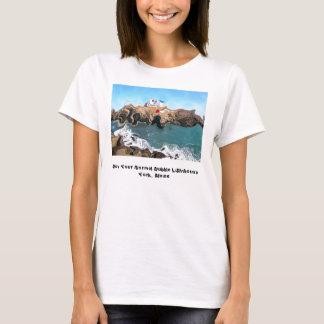 T-shirt Non votre courroie de spaghetti normale de phare