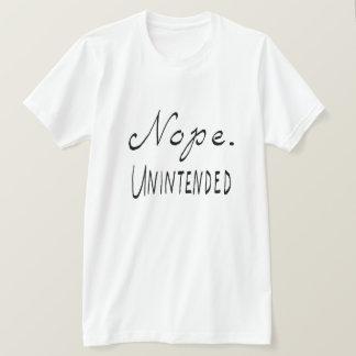 T-shirt Nope fortuit