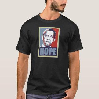 T-shirt nope obama
